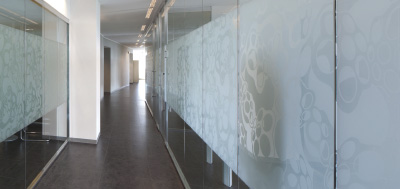 Etched & Frosted glass effect